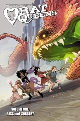 Graphic Novel Review: Rat Queens Vol.1