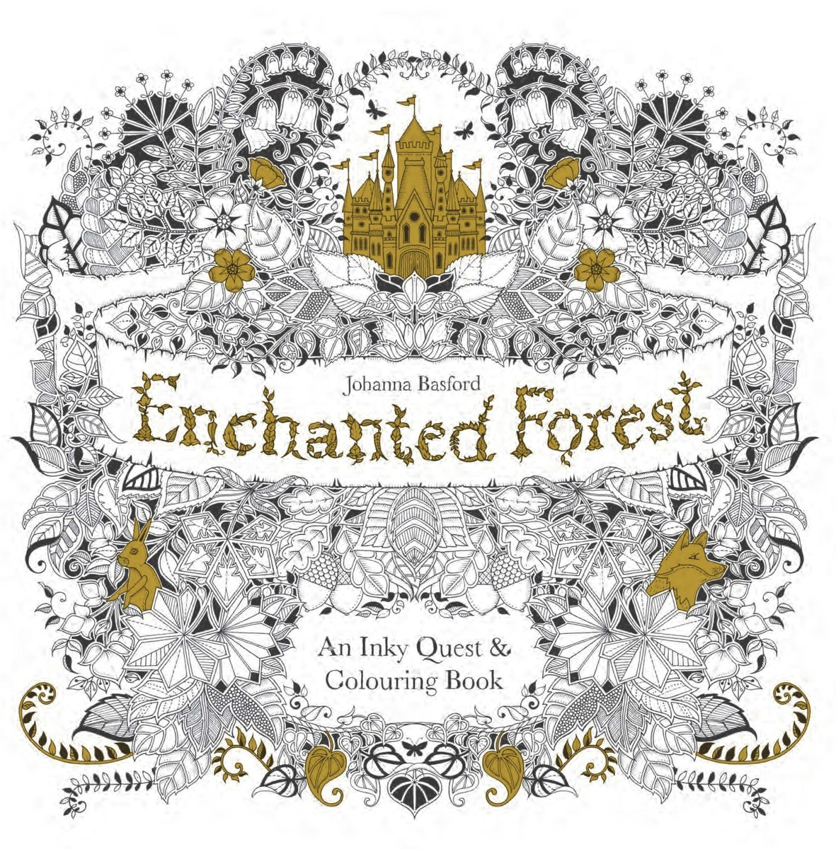 The enchanted forest coloring book review - Enchanted